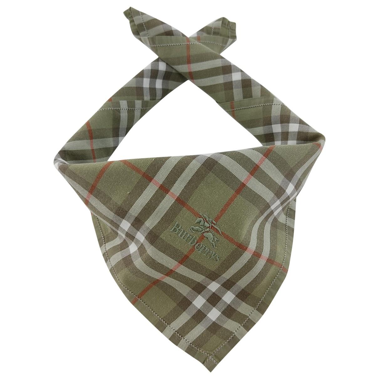 Burberry - Cheches.Echarpes   pour homme en coton - vert