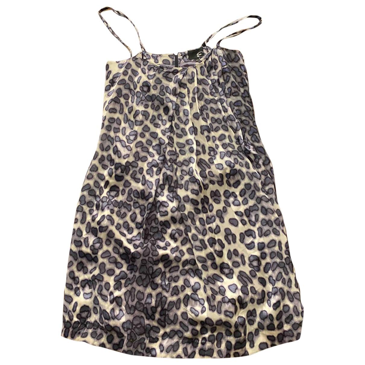 Just Cavalli \N Kleid in  Bunt Seide