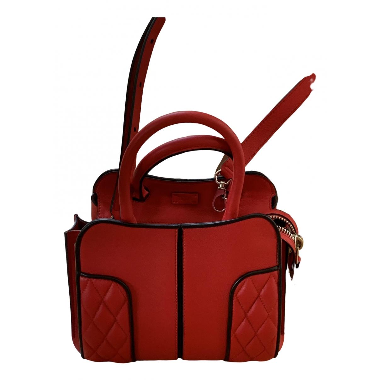 Tods \N Handtasche in  Rot Leder