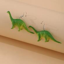 Dinosaur Decor Drop Earrings