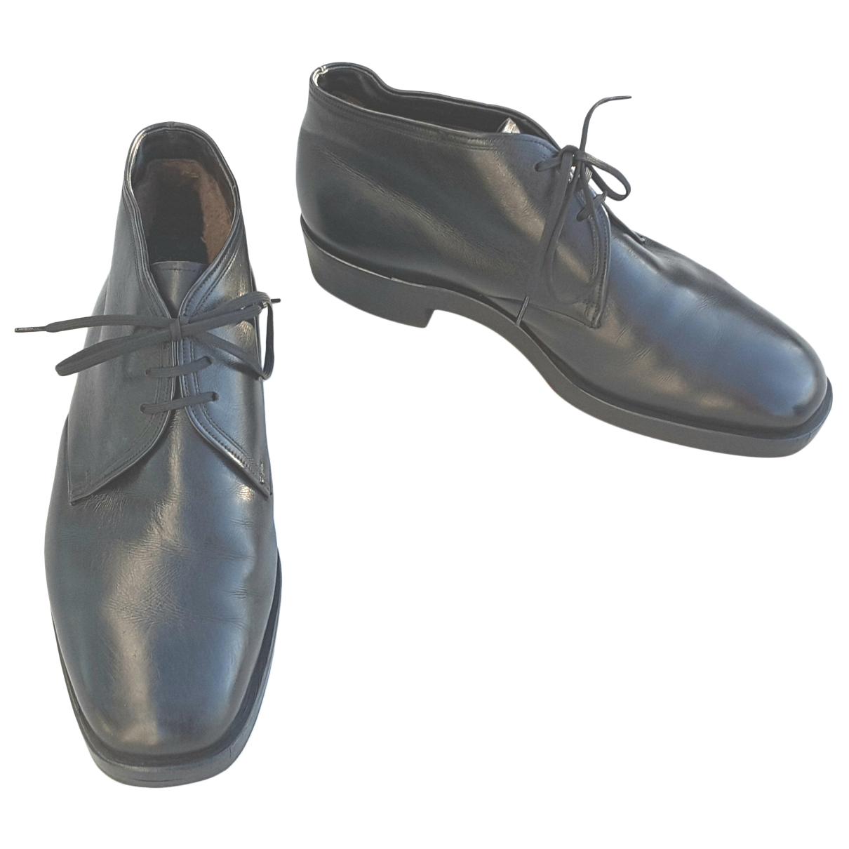 Botas de Cuero Bally