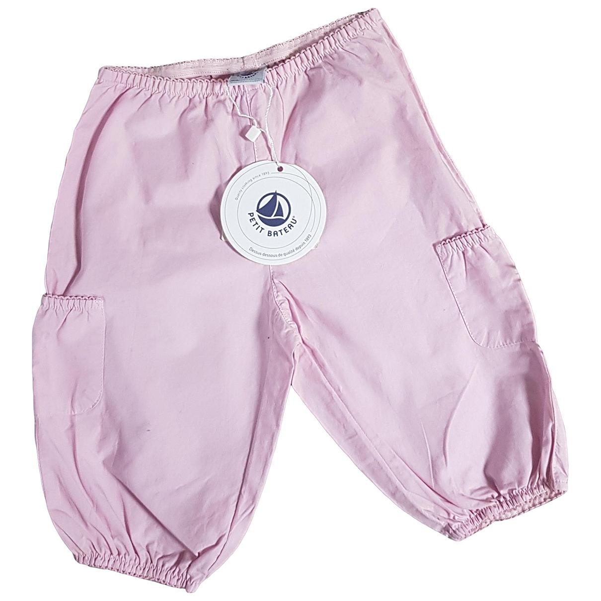 Petit Bateau - Pantalon   pour enfant en coton - rose
