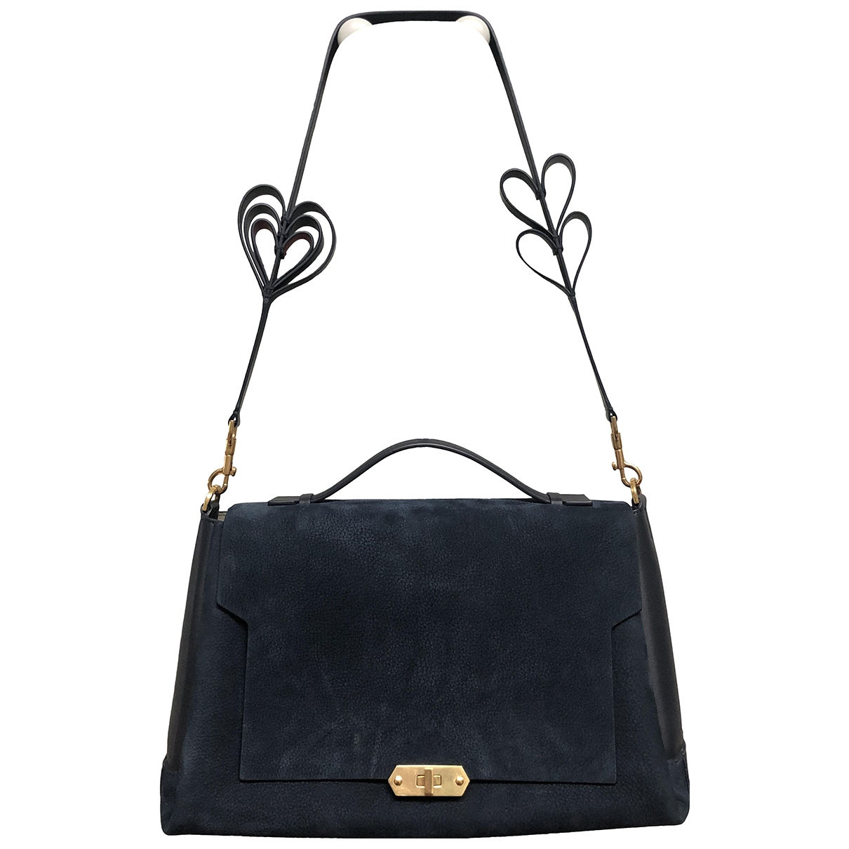 Anya Hindmarch \N Navy Leather handbag for Women \N