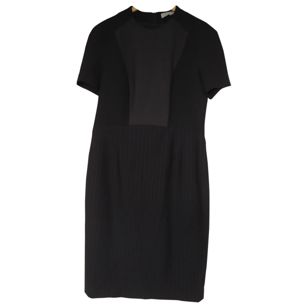 Gerard Darel \N Kleid in  Schwarz Baumwolle