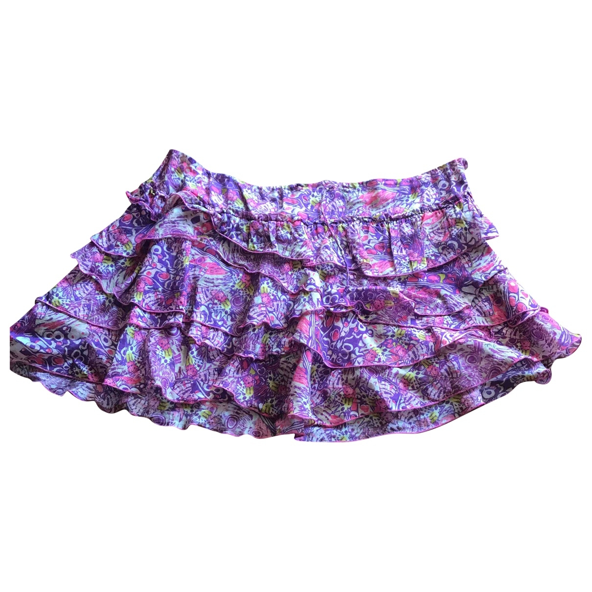 Emilio Pucci \N Multicolour Cotton skirt for Women 40 IT