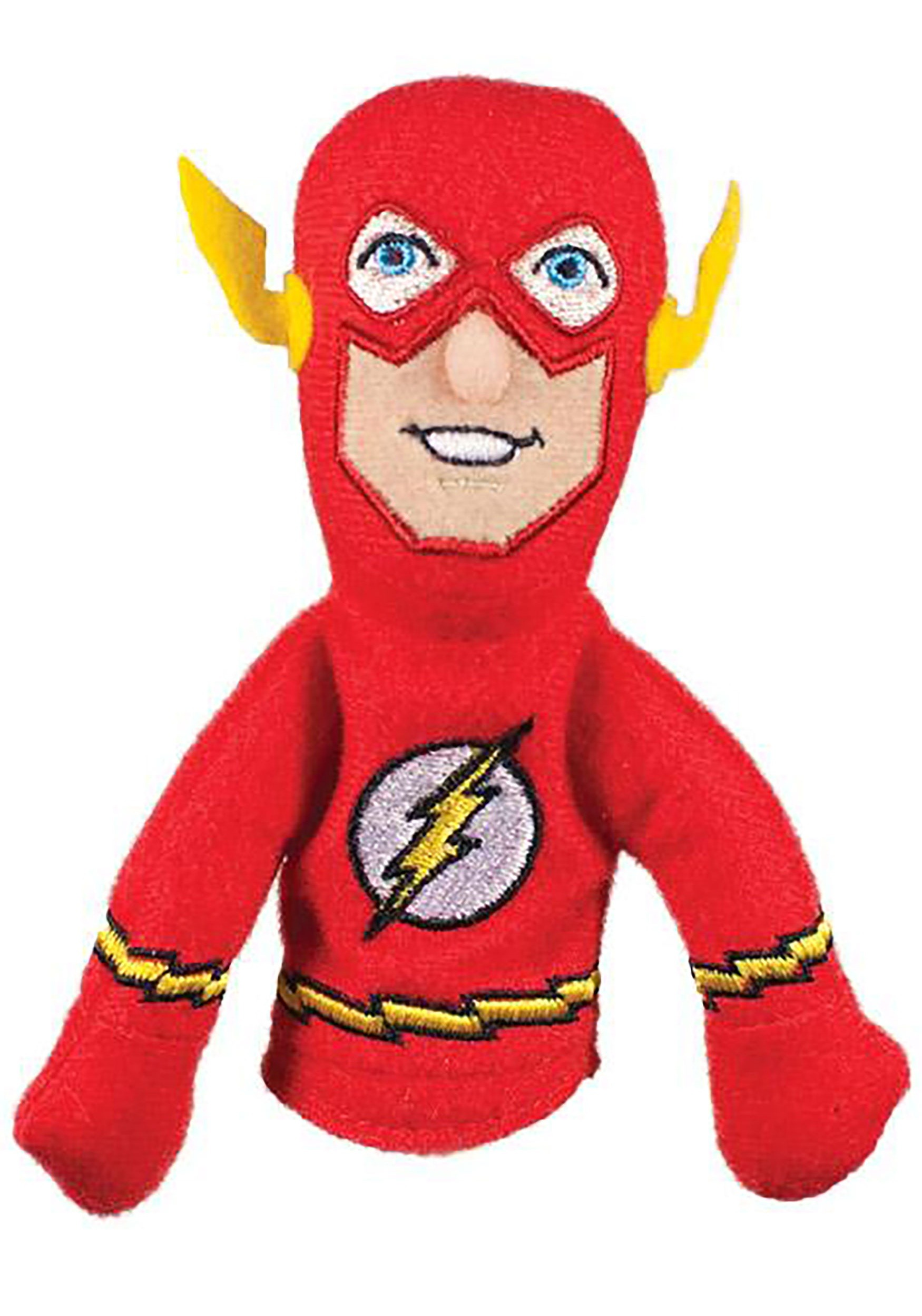 The Flash Finger Puppet and Refrigerator Magnet