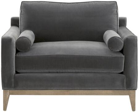 6602-1.DDOV/NG Parker Collection 6602-1.Ddov/Ng 86 Post Modern Sofa Chair In Dark Dove