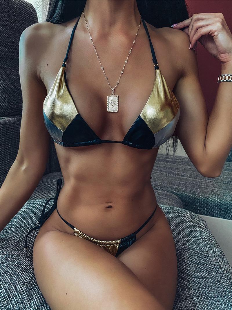 Ericdress Tankini Bikini Set Swimwear