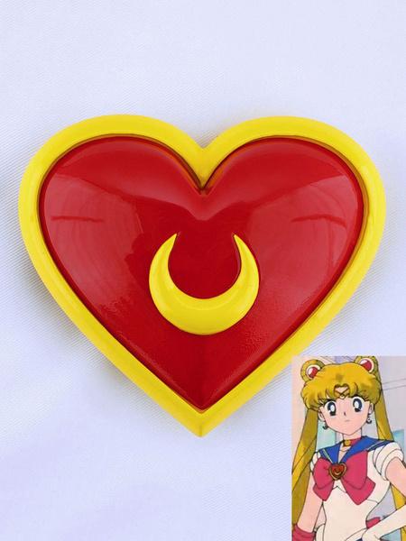 Milanoo Halloween Carnaval Accesorio de Disfraz de Sailor Moonde resina Anime Japones de Tsukino Usagi Broches