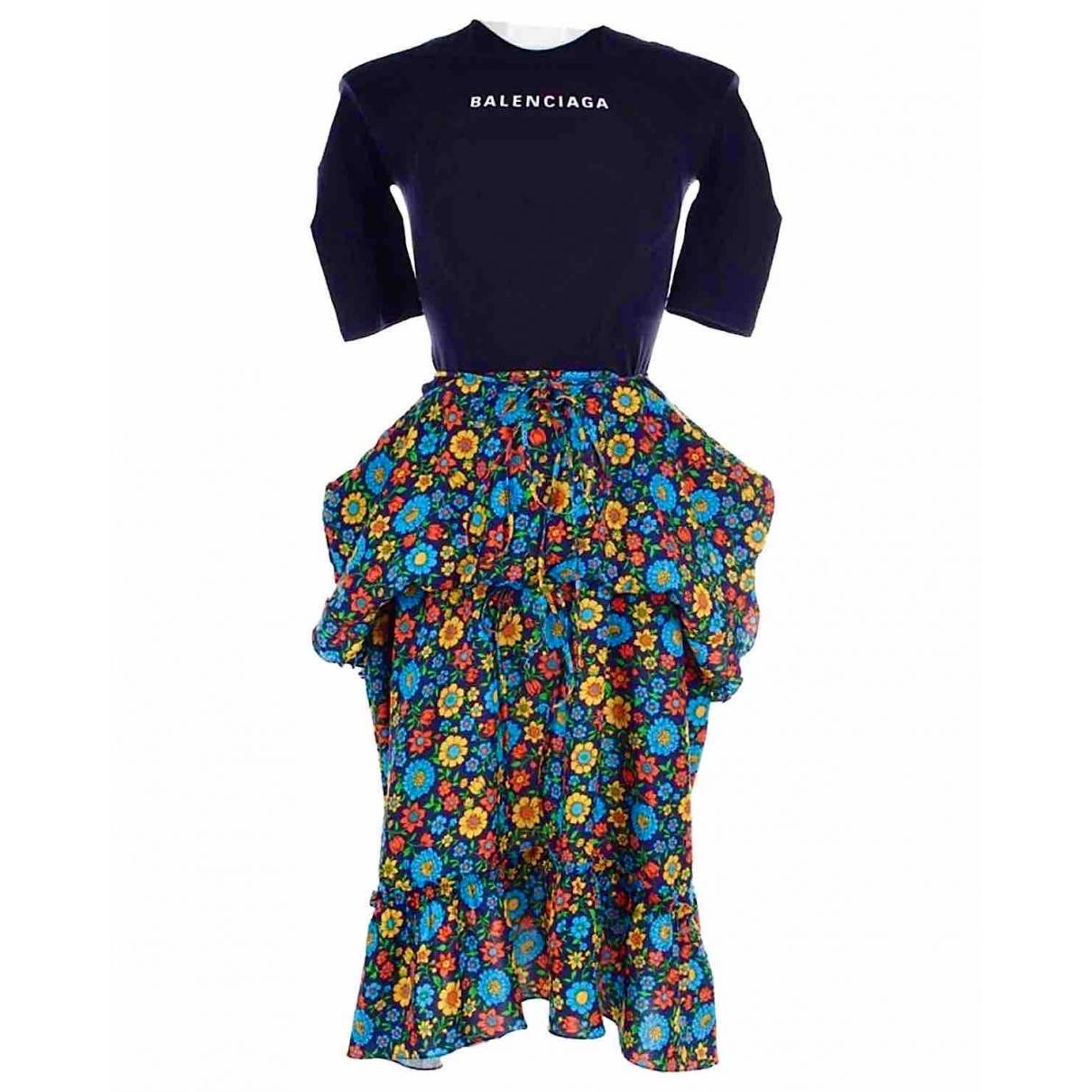 Balenciaga - Robe   pour femme - marine
