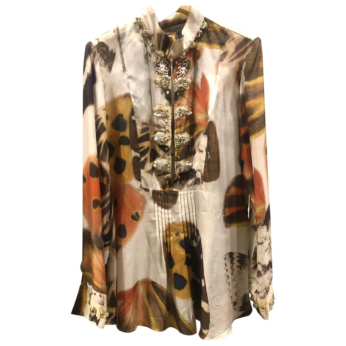 Blumarine \N Multicolour Silk Knitwear for Women 44 IT