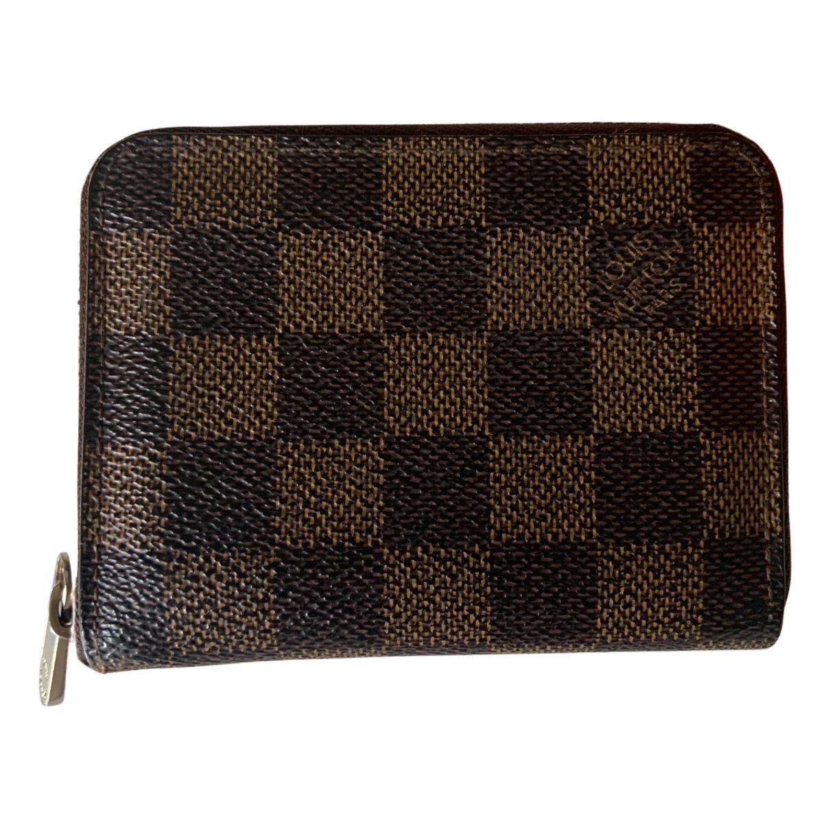 Louis Vuitton - Petite maroquinerie Zippy pour femme en toile