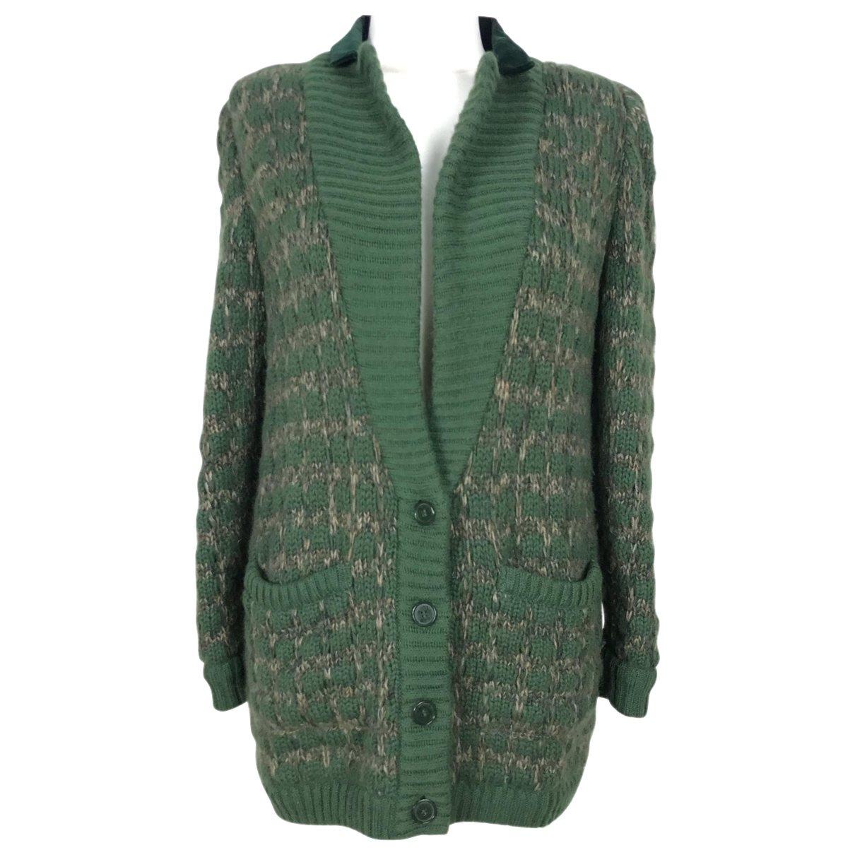 Valentino Garavani - Pull   pour femme en laine - vert