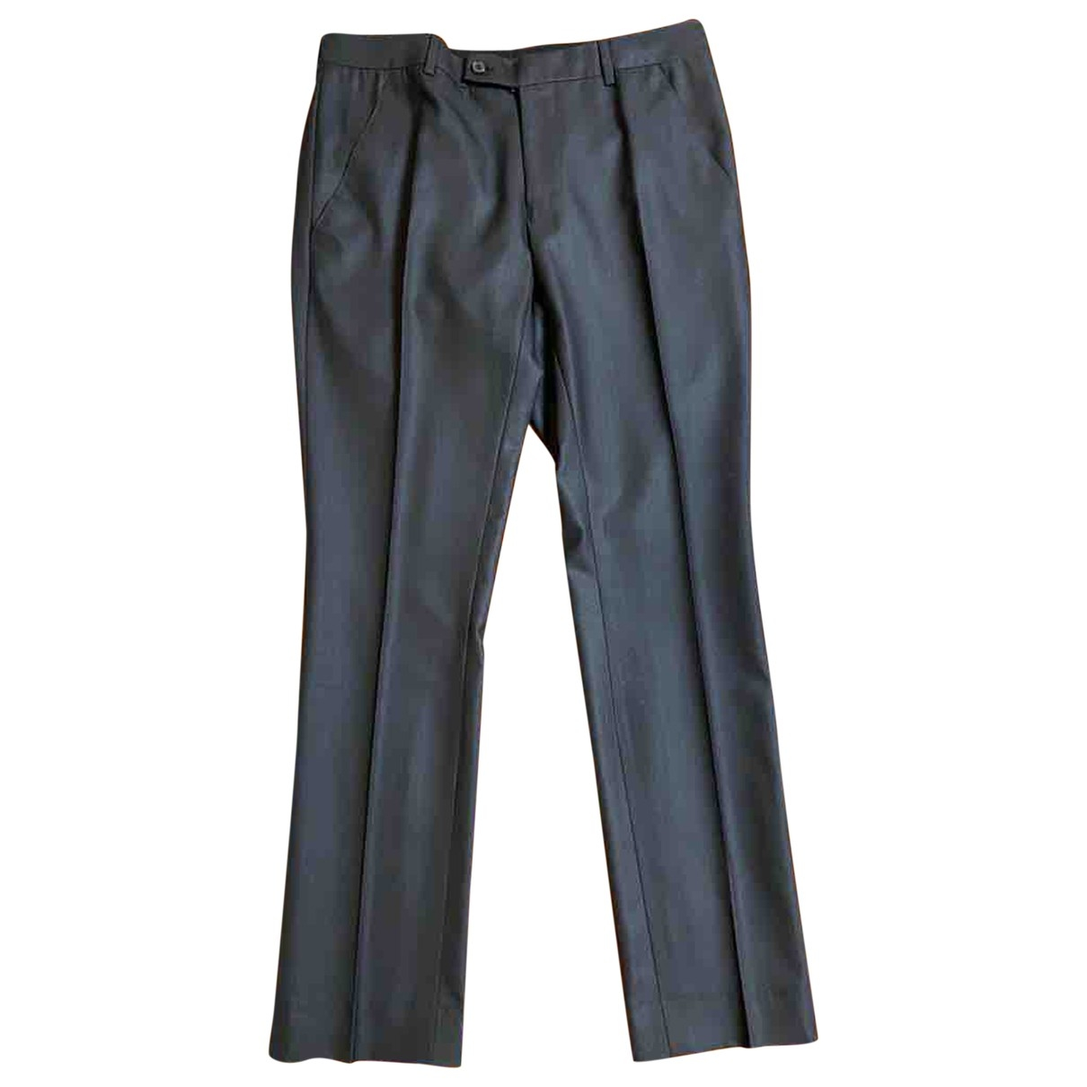 Dior Homme \N Black Cotton Trousers for Men 50 IT