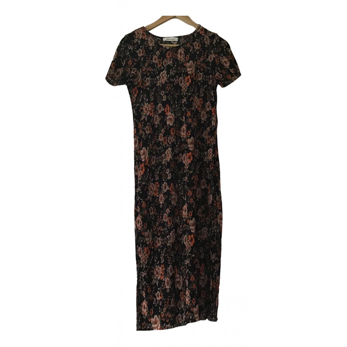 Samsoe & Samsoe \N Brown dress for Women S International