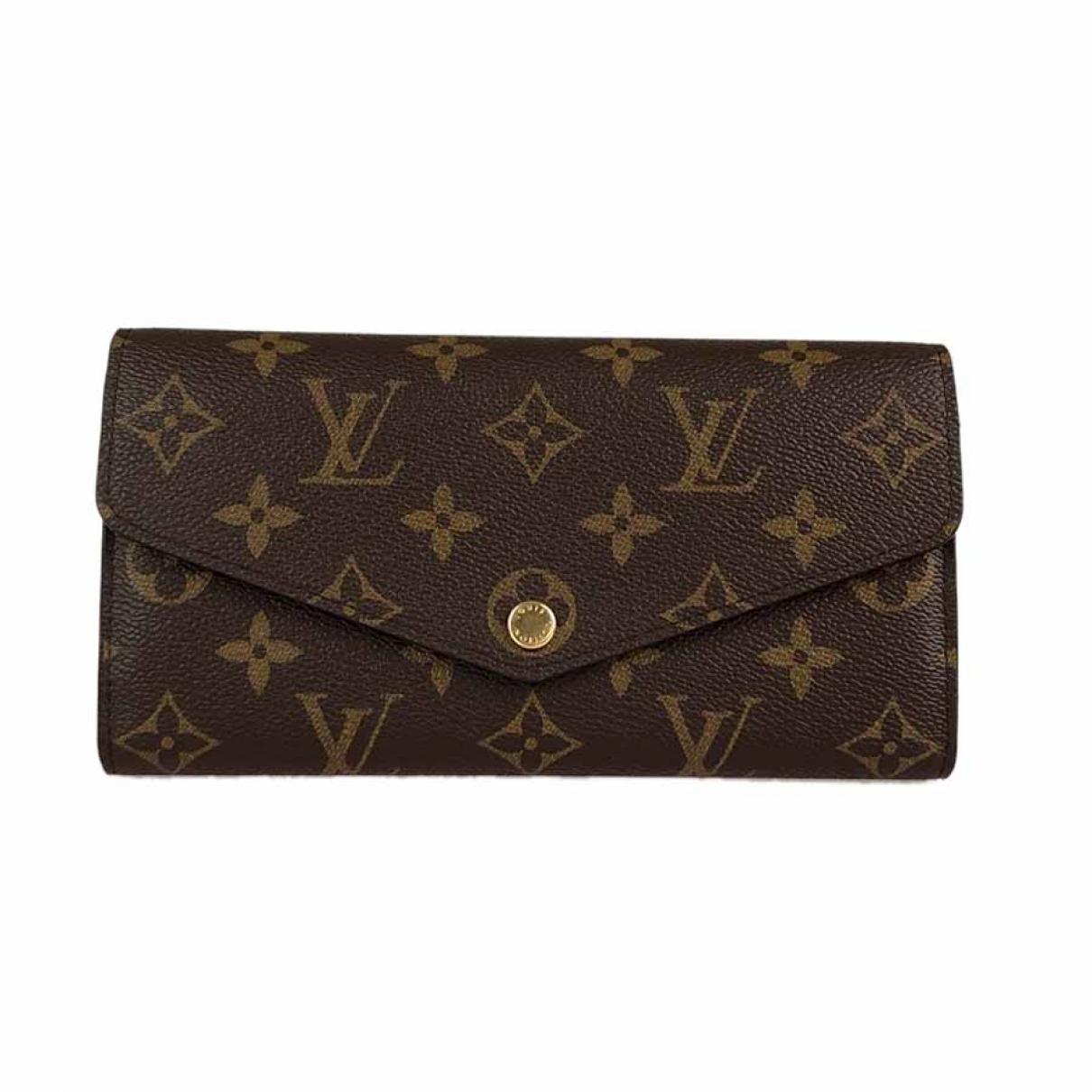 Cartera Sarah de Lona Louis Vuitton