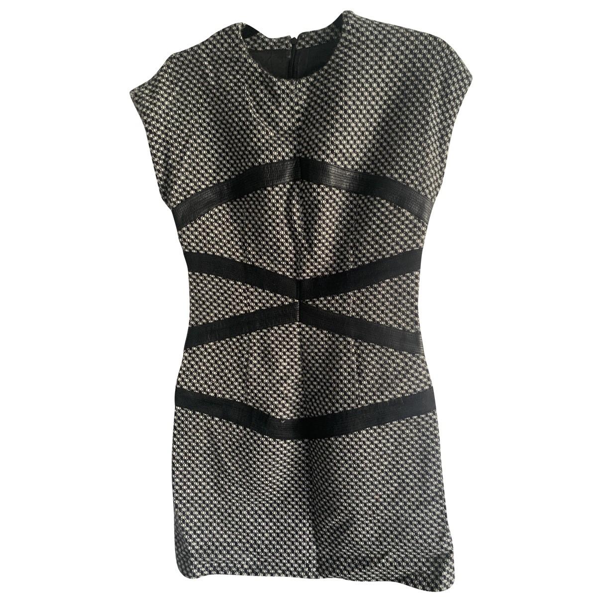 Versus - Robe   pour femme en laine - gris
