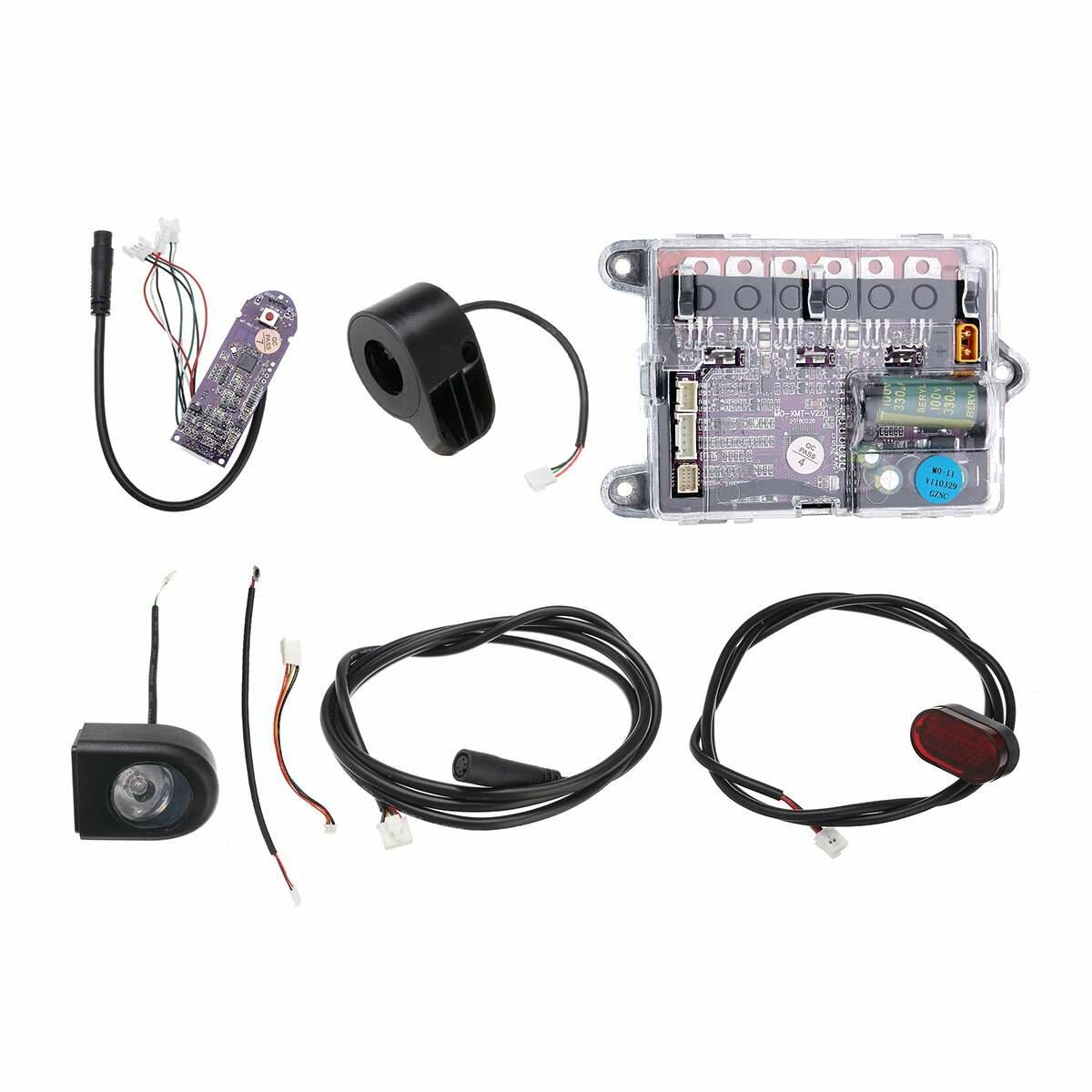 36V Motor Main Board bluetooth Board Electric Controller ESC Substitute Headlight Tail Lamp DIY Sigle Kit For Xiaomi MO-