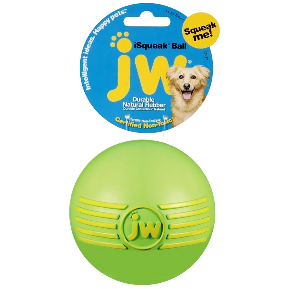JW Pet iSqueak Dog Ball - Large (Assorted)