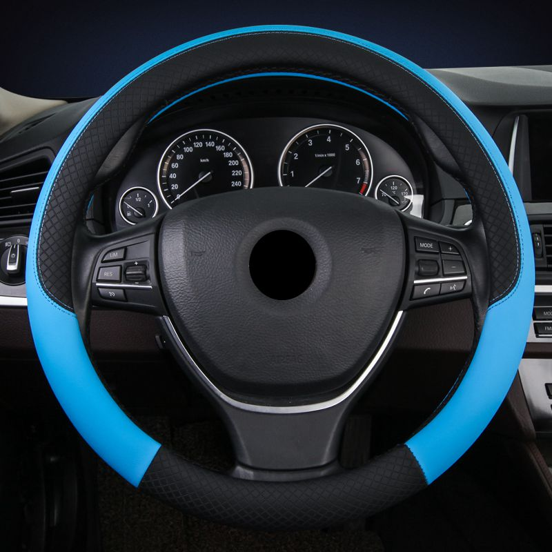 Microfiber Leather Permeability Microfiber Leather Cost-Effective Steering Wheel Cover