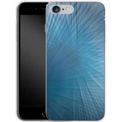 Apple iPhone 6 Plus Silikon Handyhuelle - Blue Lines von Joy StClaire