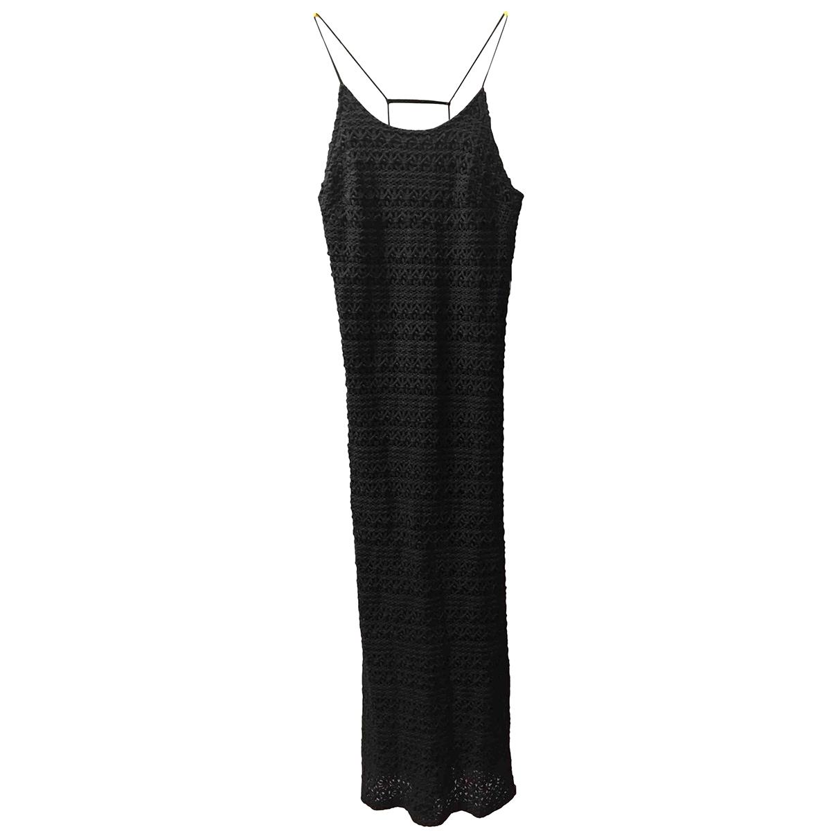 Gat Rimon \N Kleid in  Schwarz Baumwolle