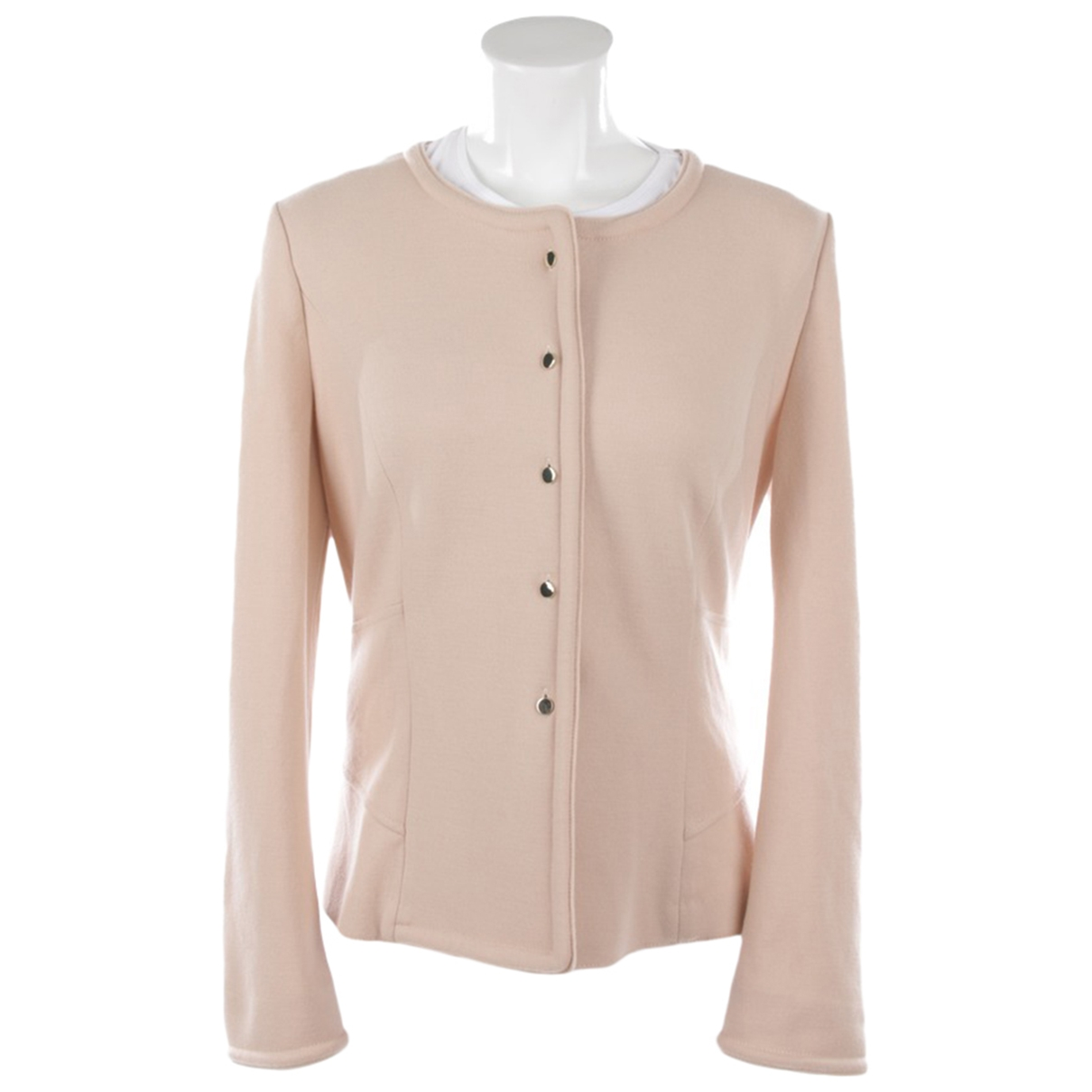 Marc Cain \N Jacke in  Rosa Wolle