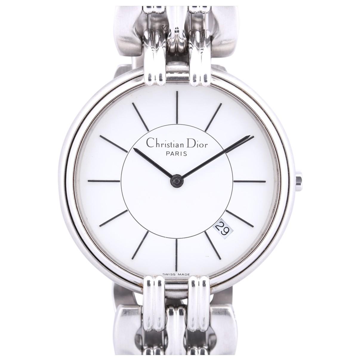 Dior \N Steel watch for Men \N