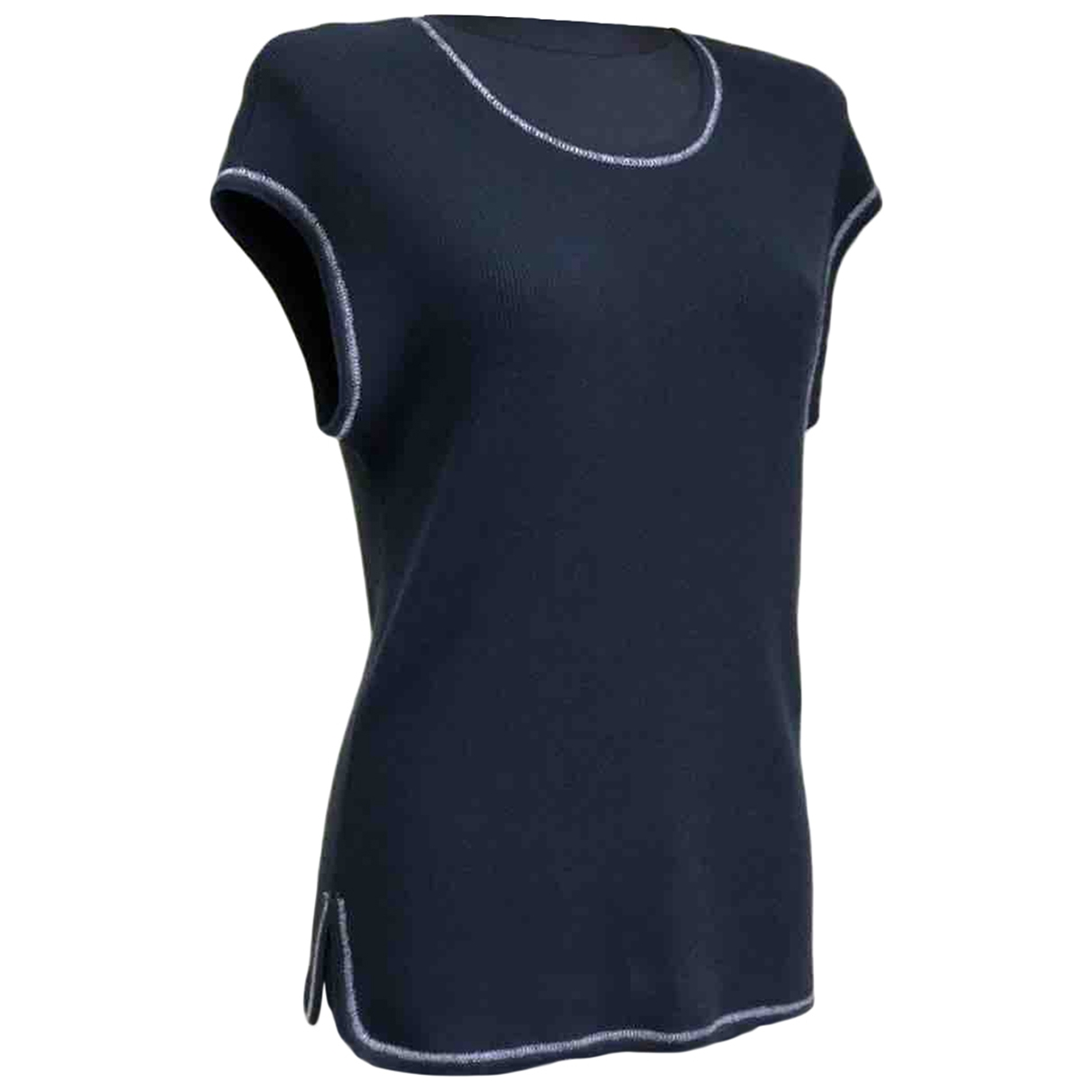 Chanel \N Blue Cotton  top for Women 42 FR