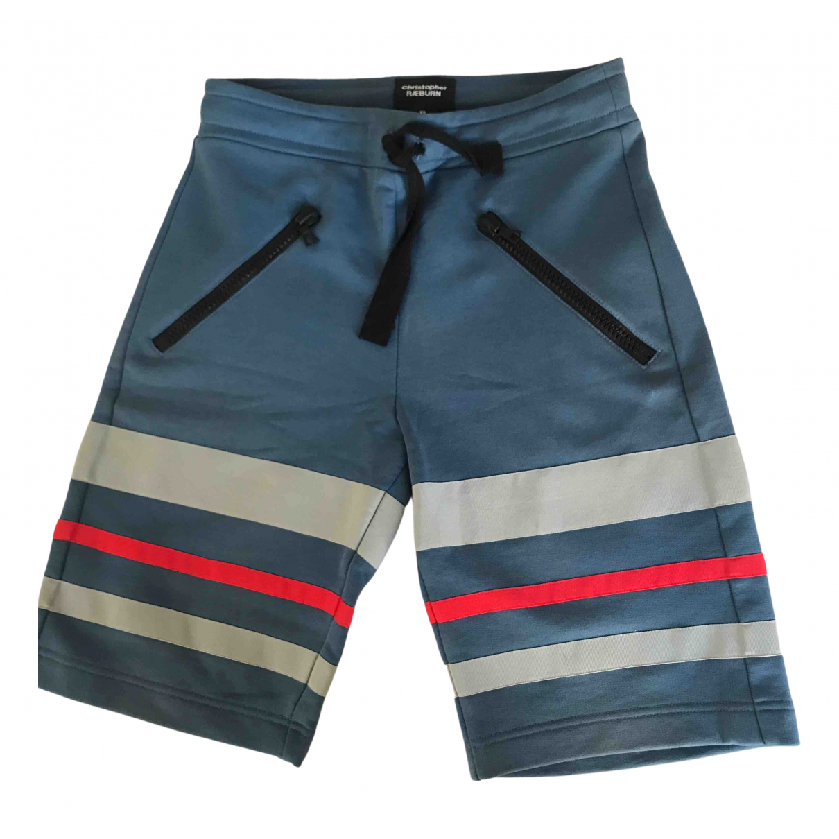 Christopher Raeburn \N Blue Cotton Shorts for Men XS International
