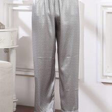 Homewear De Hombres Geometrico Casual