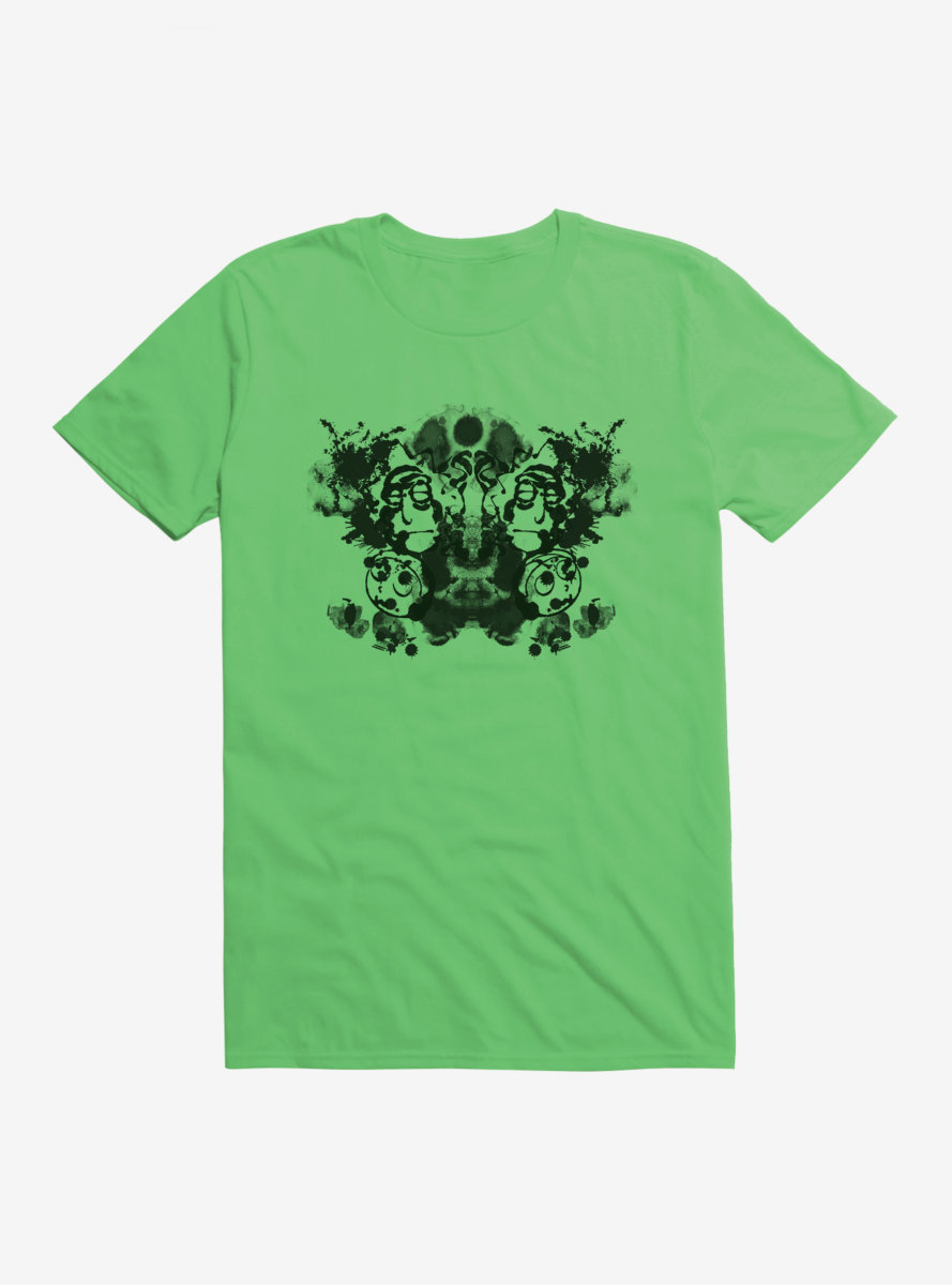 Rick And Morty Rorschach Test T-Shirt