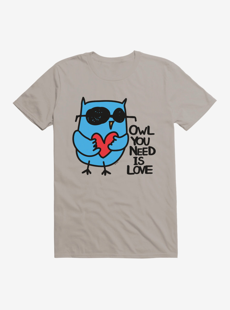 i-Create Owl You Need Is Love T-Shirt
