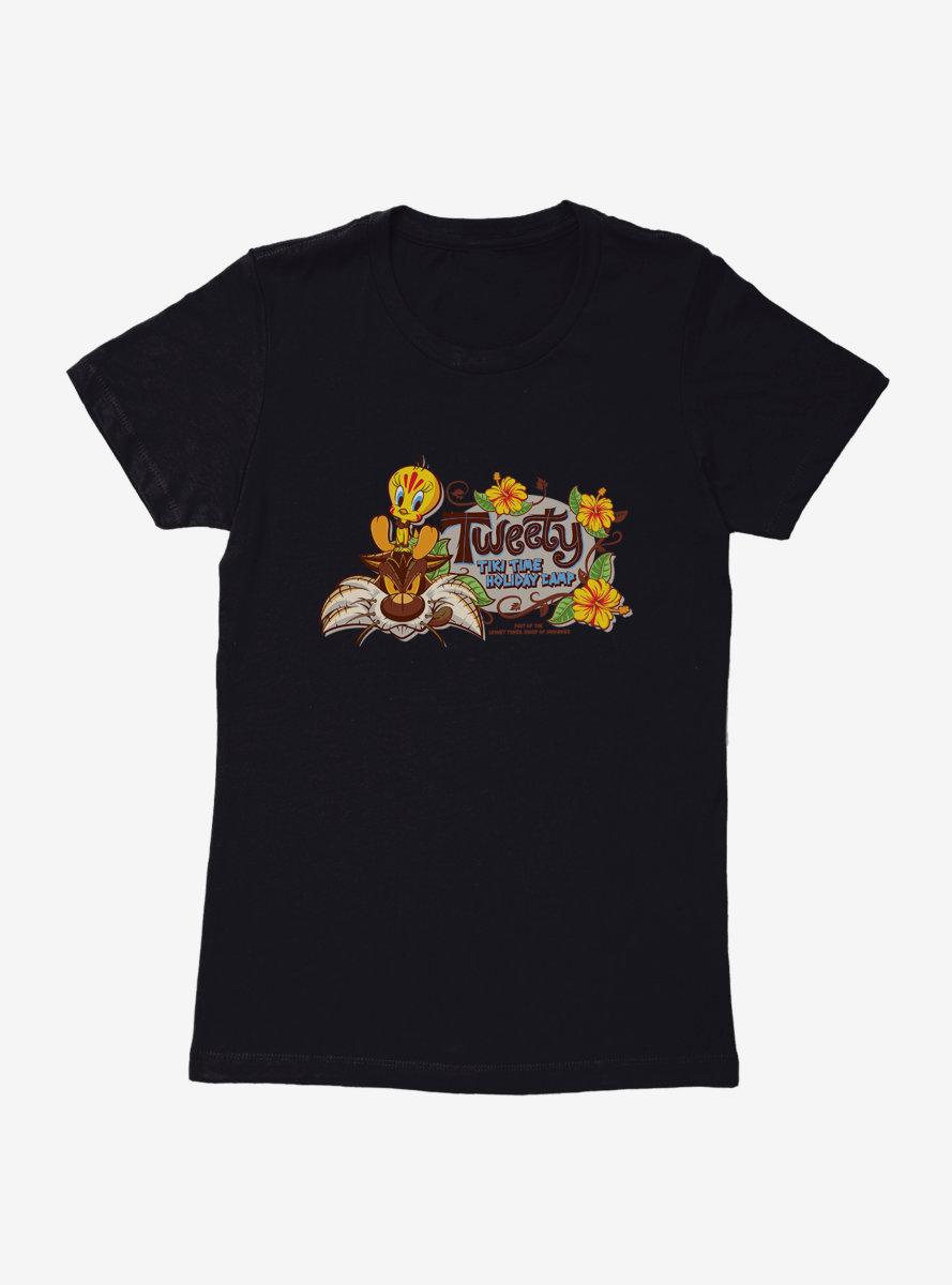 Looney Tunes Tweety Tiki Time Womens T-Shirt