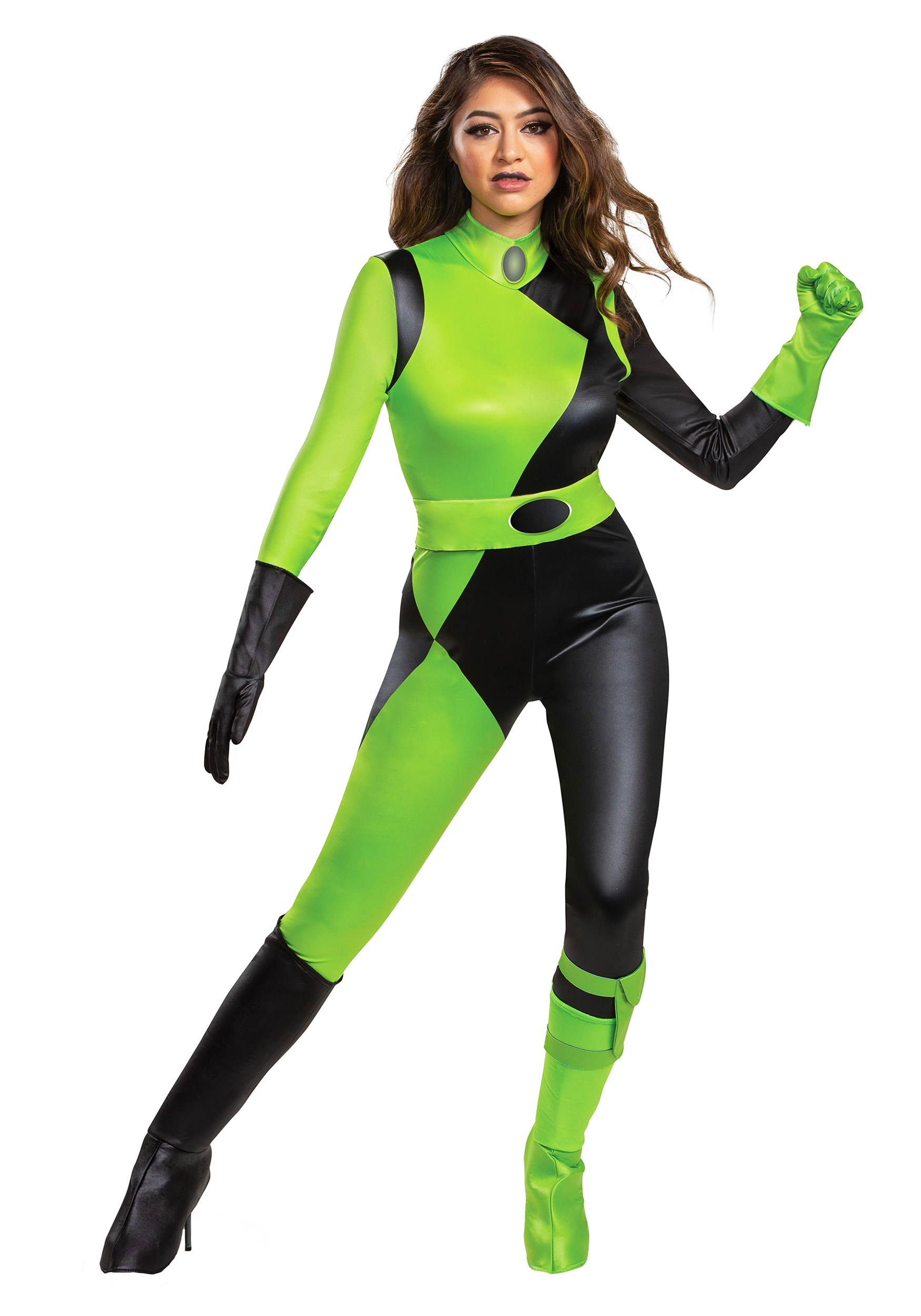 Kim Possible Animated Series Shego Costume for Women