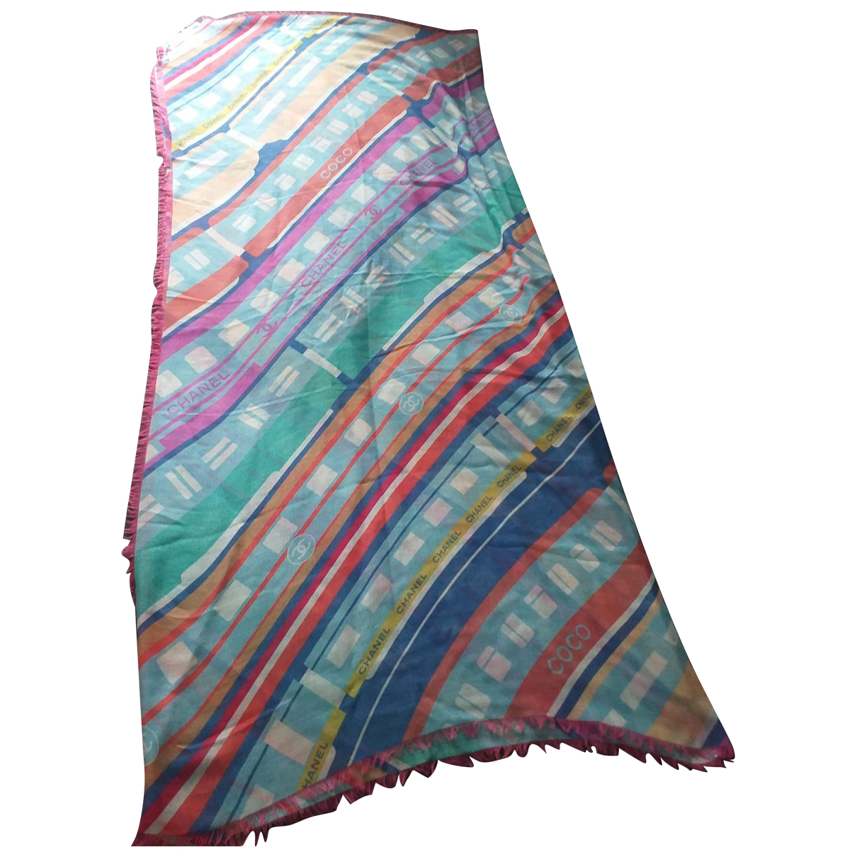 Chanel \N Multicolour Cashmere scarf for Women \N