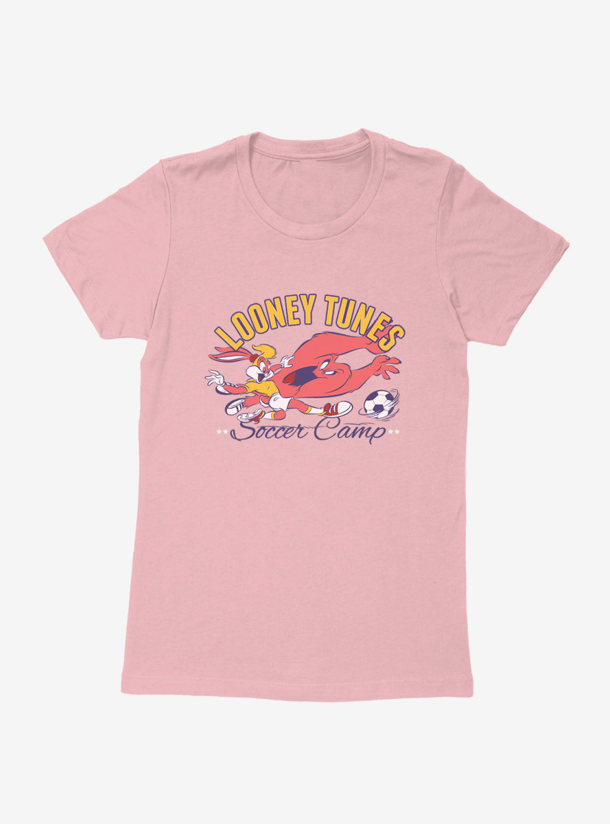 Looney Tunes Soccer Goal Womens T-Shirt