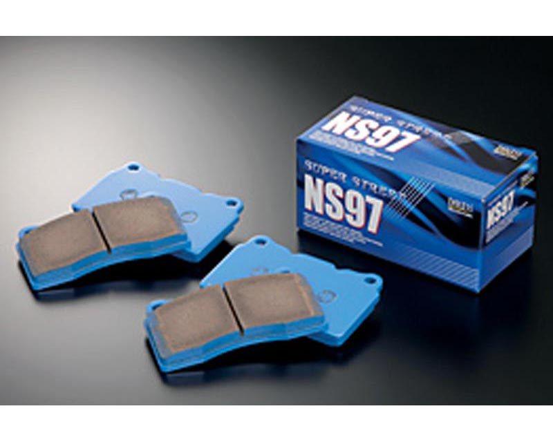 Endless EP 324 NS97 F NS97 Low-Steel Street Brake Pads Front Honda Accord 2.3L Coupe 98-02