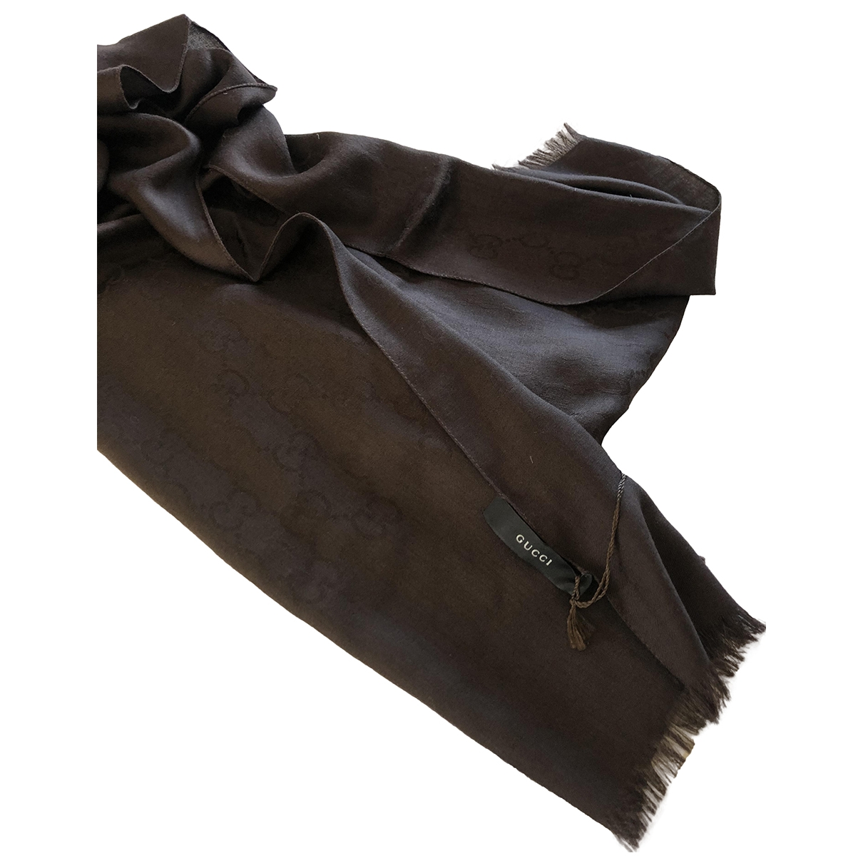 Gucci \N Brown Silk scarf for Women \N