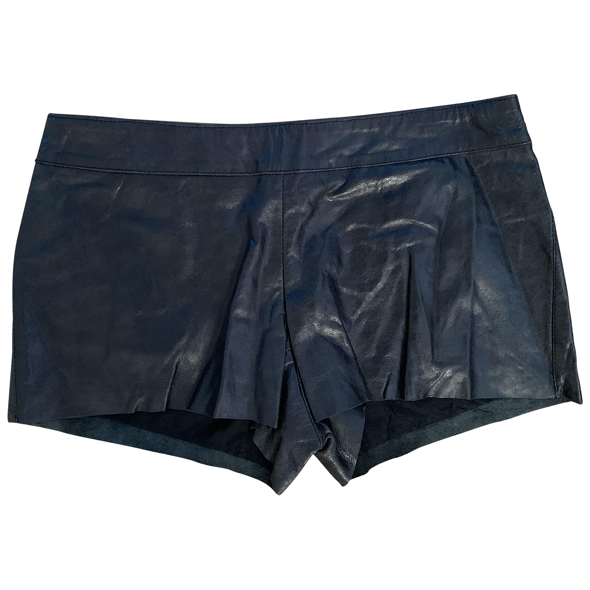 Twin Set \N Black Leather Shorts for Women S International