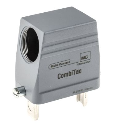 Multi Contact Cable Mount CombiTac-Module, Male, 12 Way, 2 → 5 (Signal Pin) A, 75 (Power Pin) A