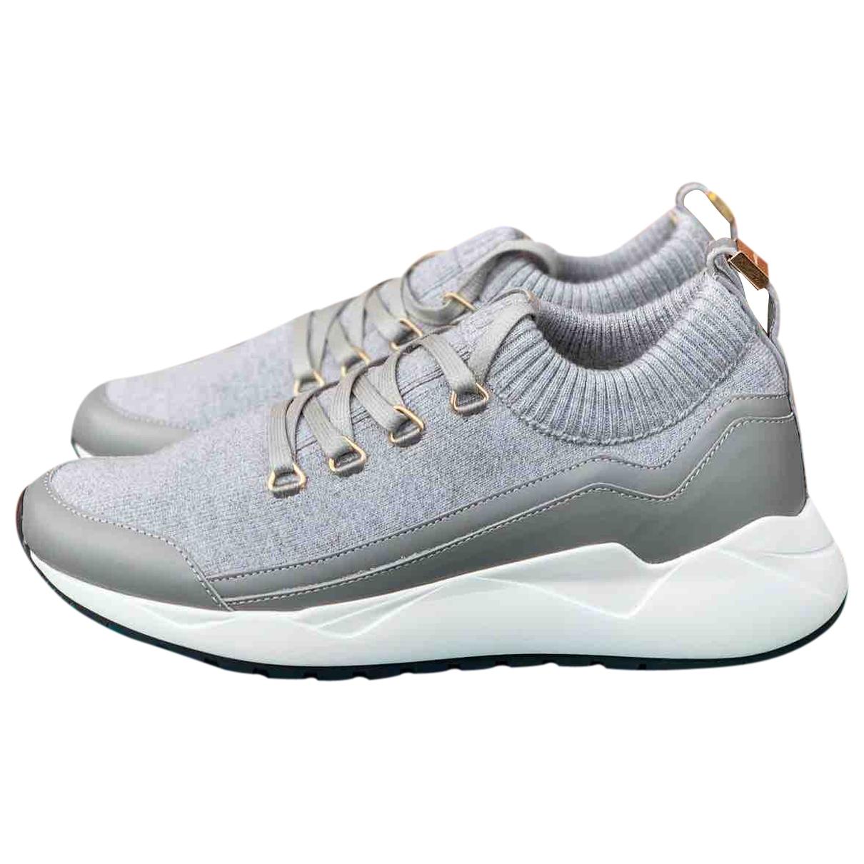 Buscemi \N Sneakers in  Grau Leinen