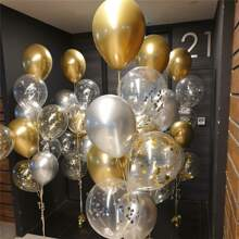 20pcs Confetti & Latex Balloon Set