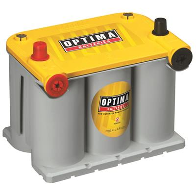 Optima Batteries YELLOWTOP Battery Group D75/25 620 CCA Top Post - 8042-218