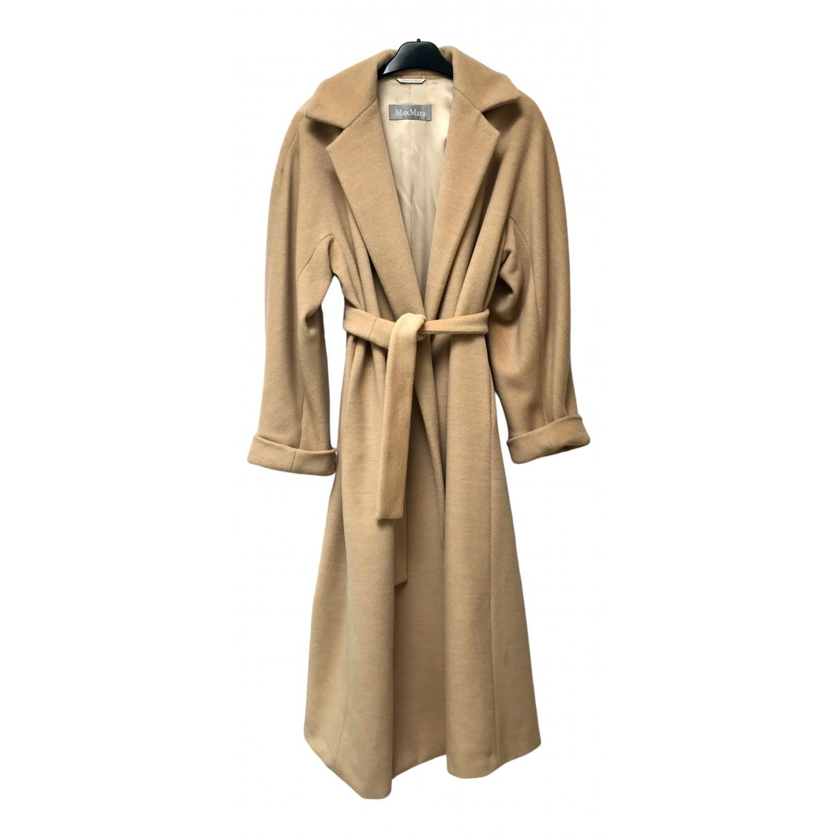 Max Mara \N Camel Wool coat for Women 6 UK