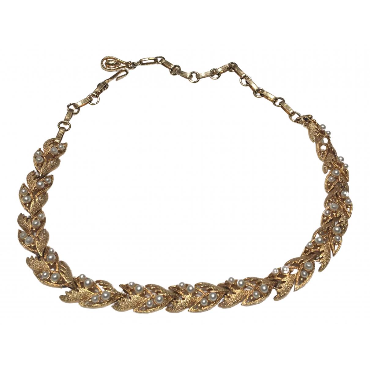 - Collier Nacre pour femme en perles - dore