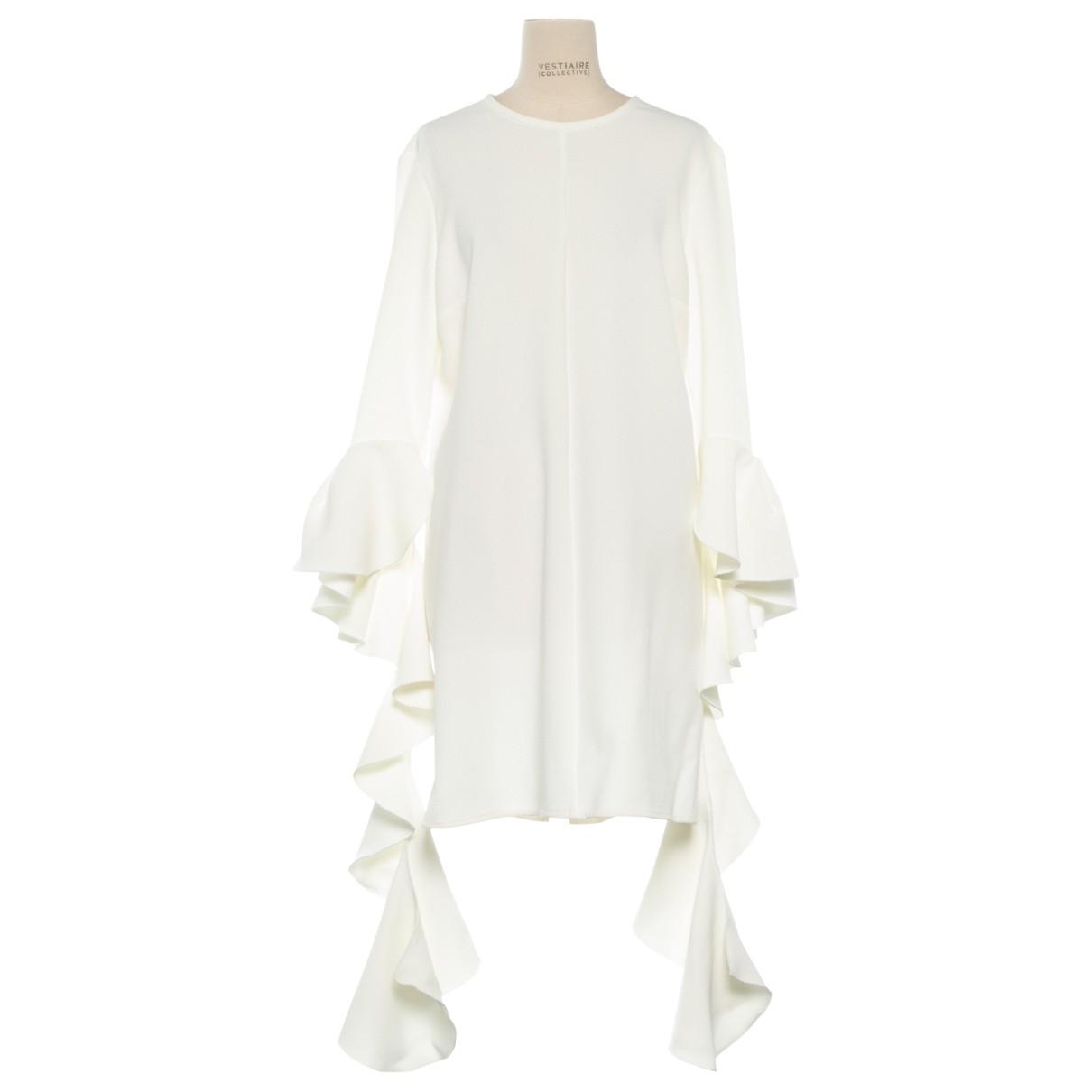 Ellery \N Kleid in  Weiss Polyester