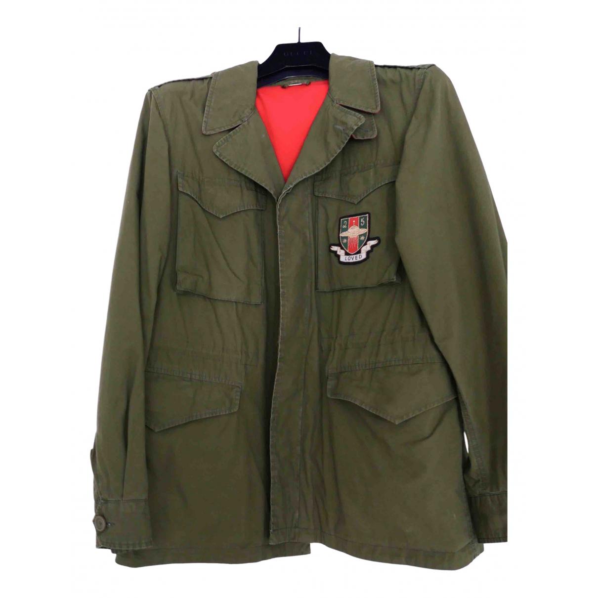 Gucci \N Khaki Cotton jacket  for Men 48 IT