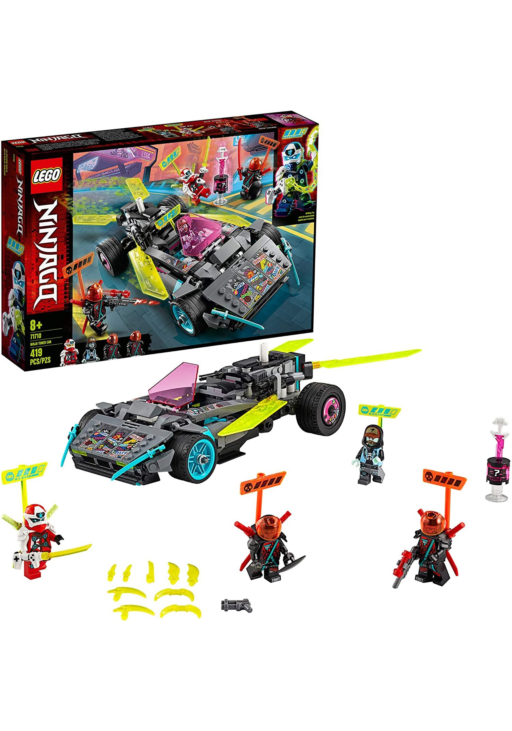 Ninjago Ninja Tuner Car LEGO Building Set