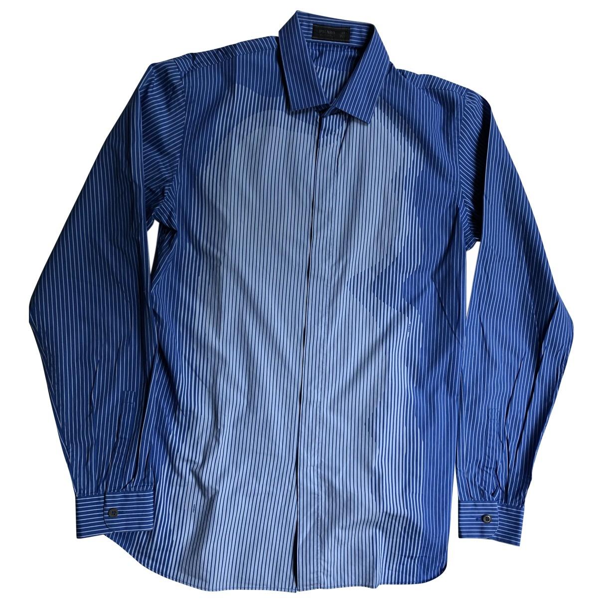 Prada \N Hemden in  Blau Baumwolle